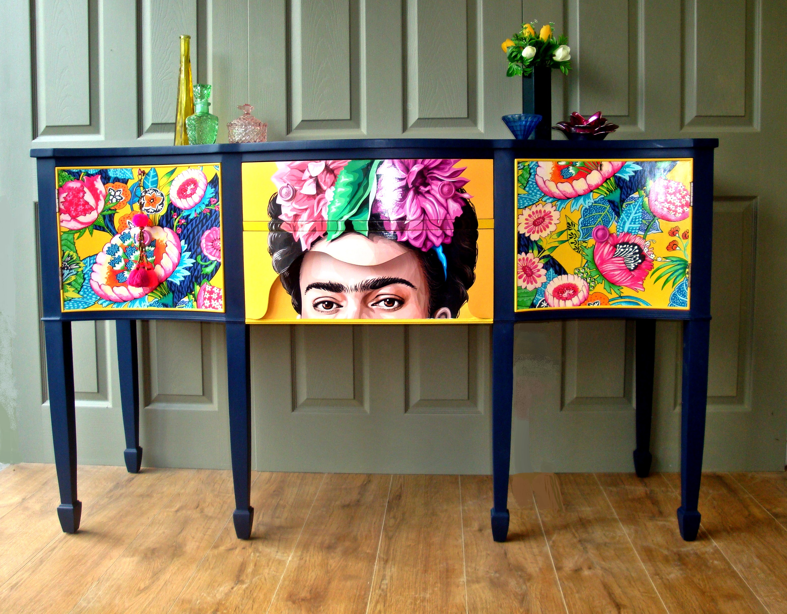 Frida Kahlo Sideboard Siren Designs Weymouth Dorset